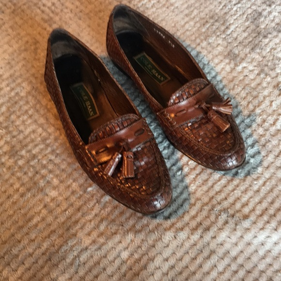 162c5972a3edb Cole Haan Made in Italy Braided Leather Sz 9.5 B